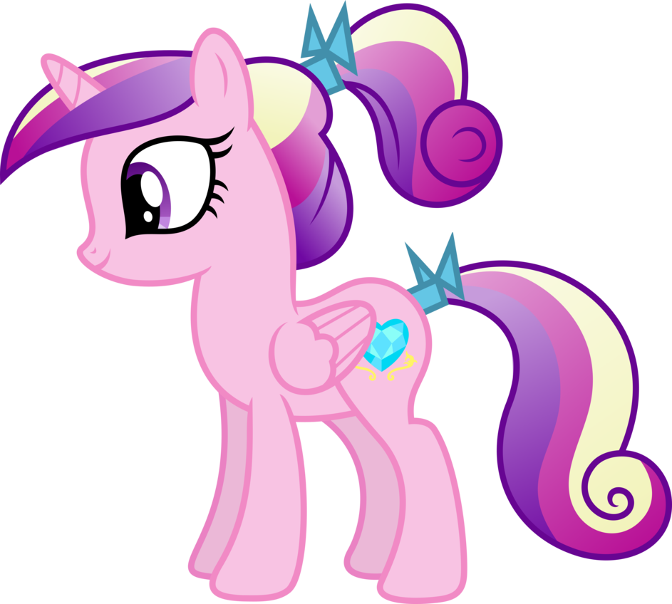 My little pony princess cadence as a filly - Princesse poney ...